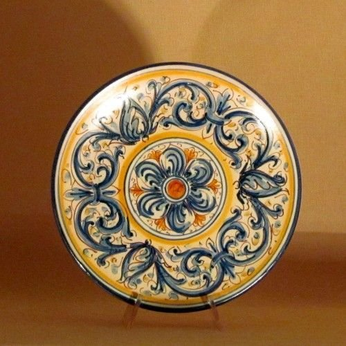 Ceramiche di Caltagirone  Piatto Piccolo  Per la casa e per te    su MissHobby