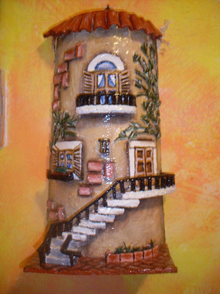 Tegole decorate  Per la casa e per te  Decorare casa