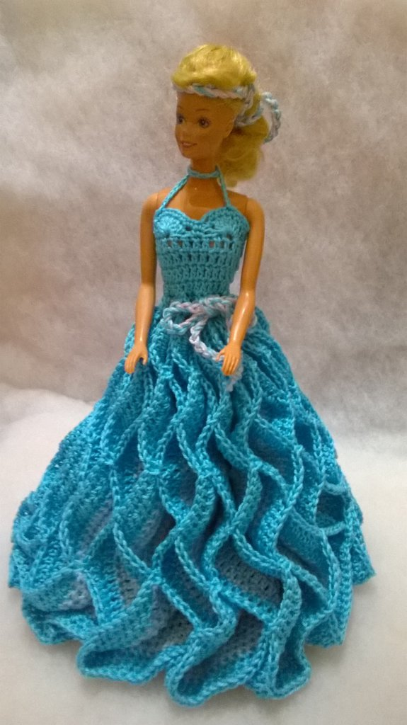 vestito per bambola barbie idea regalo  Bambini