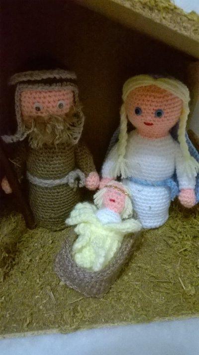 presepe amigurumi idea regalo  Feste  Natale  di Le