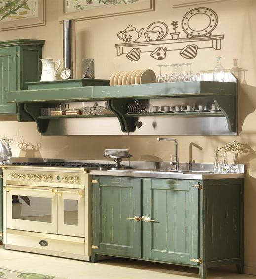 Cucina Chic Cake Design - Idee per la casa e l\'interior design ...
