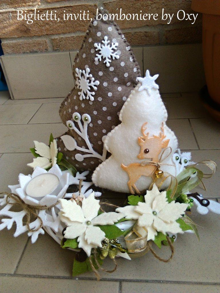 Centrotavola Natale Albero di natale  Feste  Natale