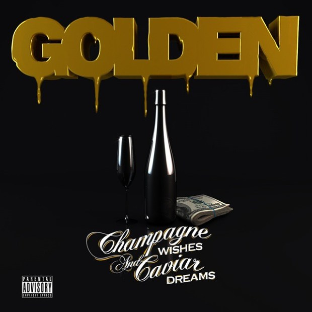 Golden - Champagne Wishes and Caviar Dreams