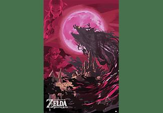 the legend of zelda poster breath of the wild