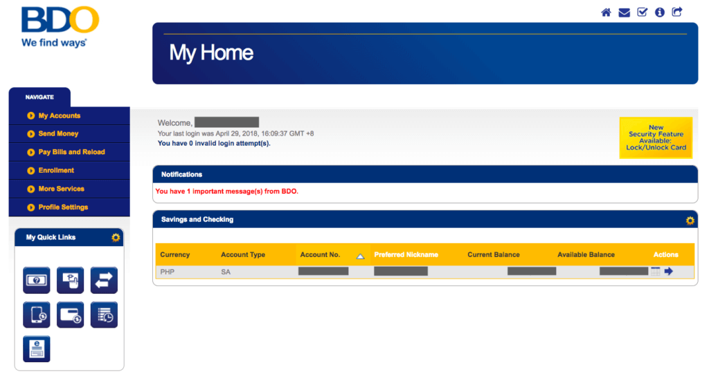 Bdo Online Banking Account Everything You Need To Know