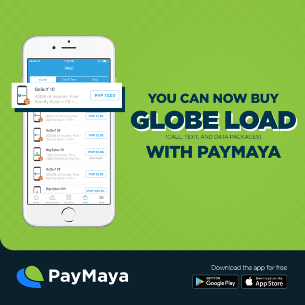 How to Use PayMaya App - PayMaya Load