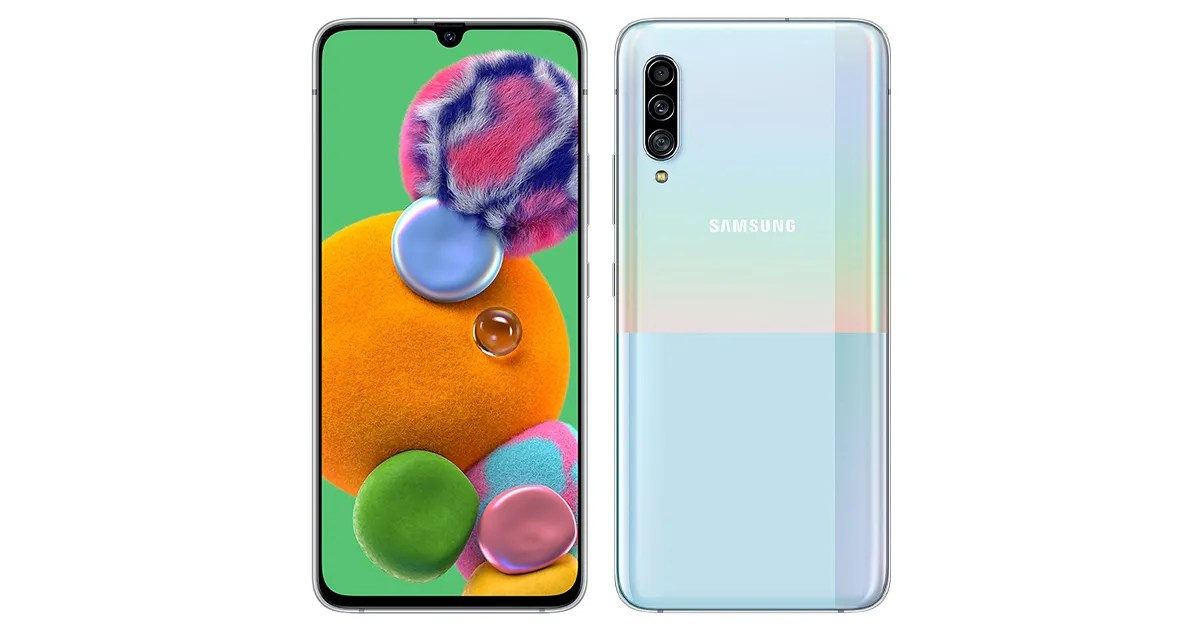 Samsung Galaxy A90 5G with Snapdragon 855 SoC. 48MP Triple Camera Setup Launched: Price. Features - MySmartPrice