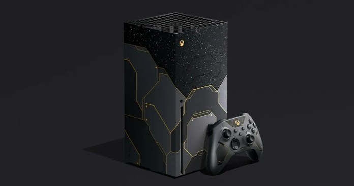 Xbox Series X Halo Infinite Limited Edition Console Revealed