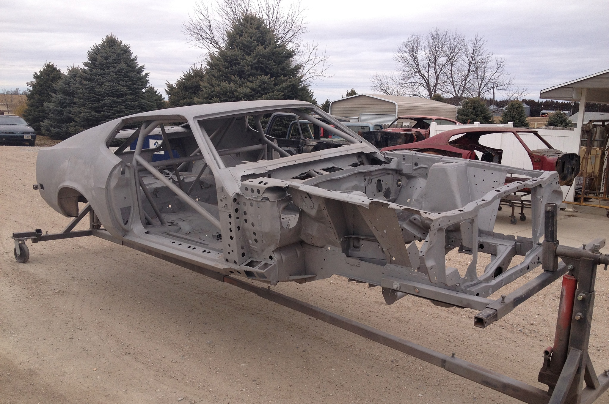 hight resolution of 1971 ford mustang frame