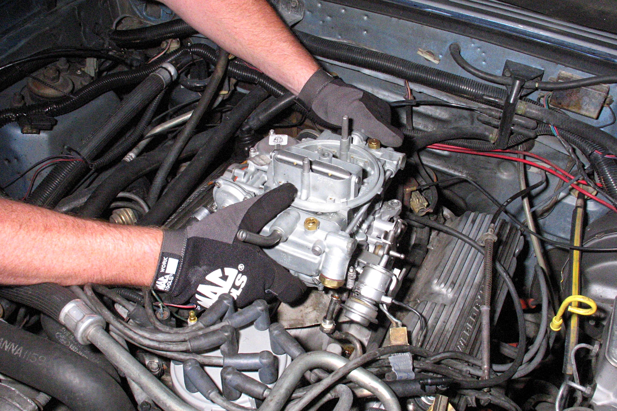 hight resolution of for 3 years the 5 0l high output was fitted with the holley 4180c 1984 ford mustang 50 carbureted wiring harness