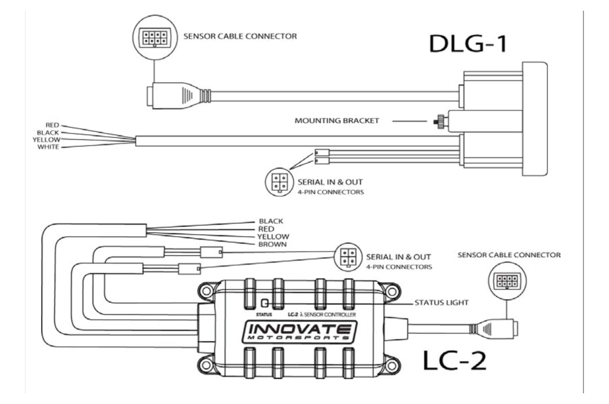 small resolution of  innovate dlg 1 air fuel ratio gauge mustang install 005