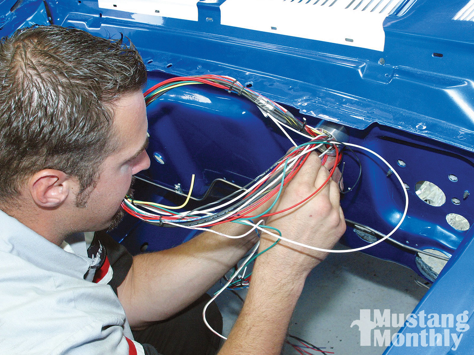 medium resolution of painless performance wiring kit project reclaim mustang monthly