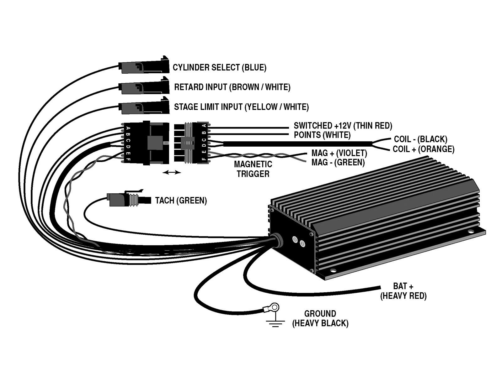 crane hi 6r capacitive discharge ignition 5 0 mustang super fords crane hi 6 wiring diagram [ 1600 x 1200 Pixel ]