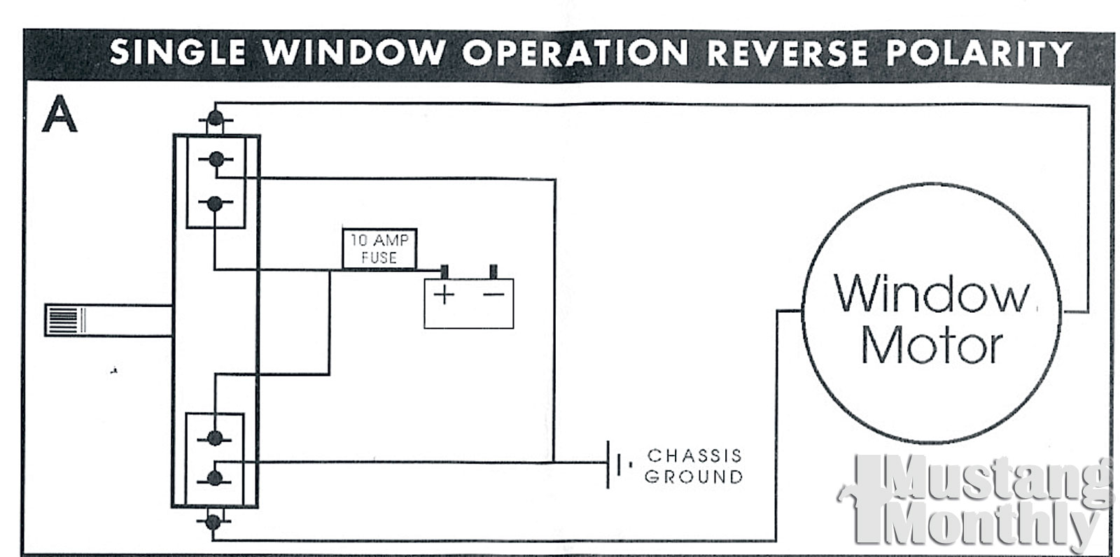 small resolution of mump 1107 20 electric life power windows single window wiring power window wiring diagram chevy mump