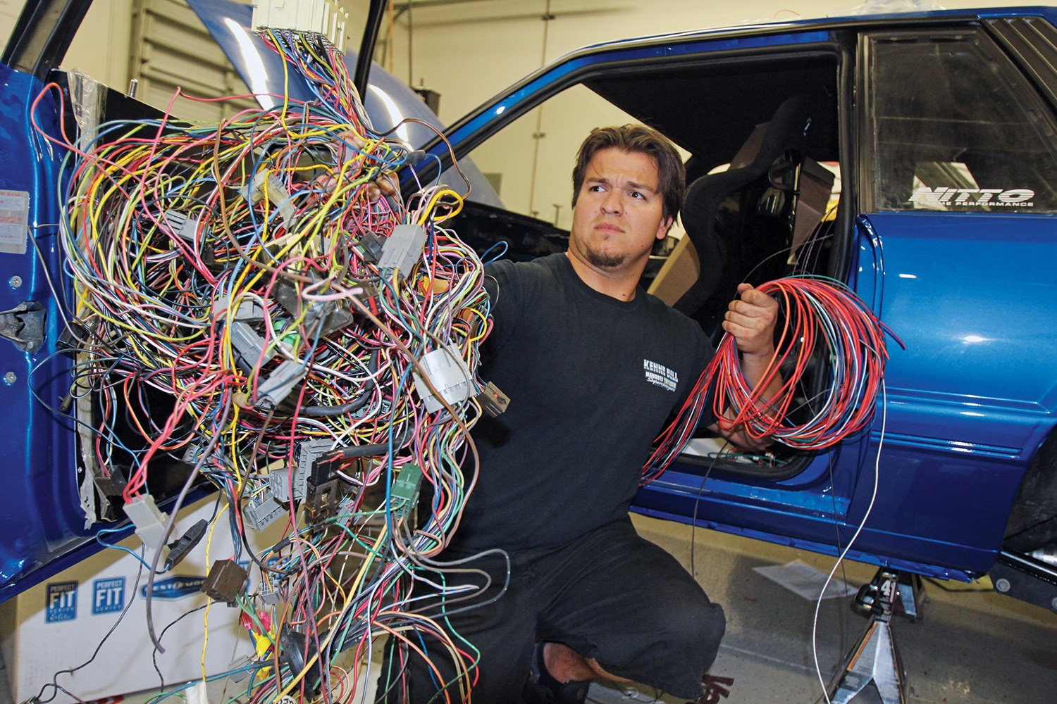 how to wire your fox mustang wire you being so difficult fox body wiring harness painless [ 1500 x 1000 Pixel ]