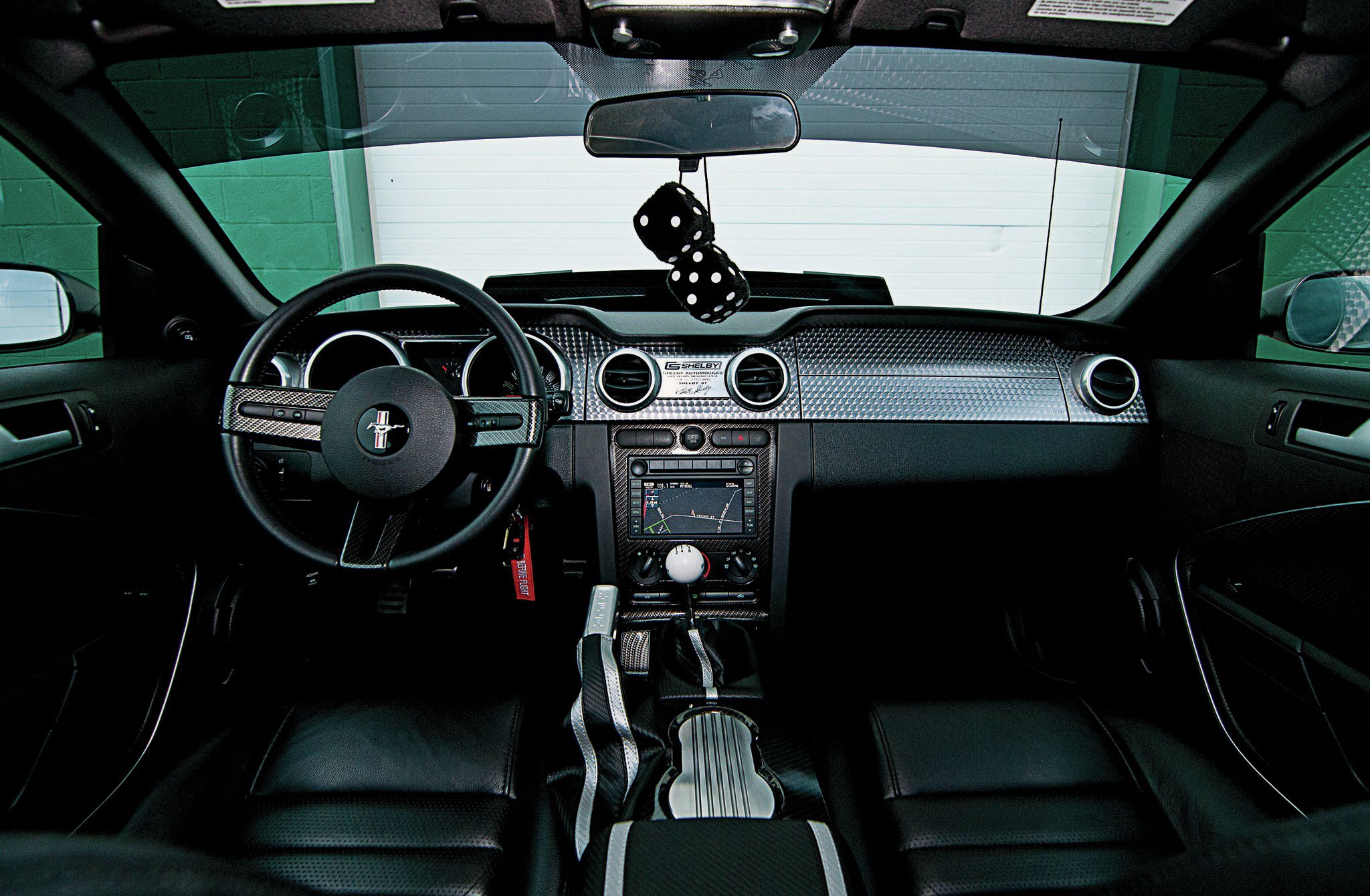 2007 ford mustang shelby gt interior dash [ 2048 x 1340 Pixel ]