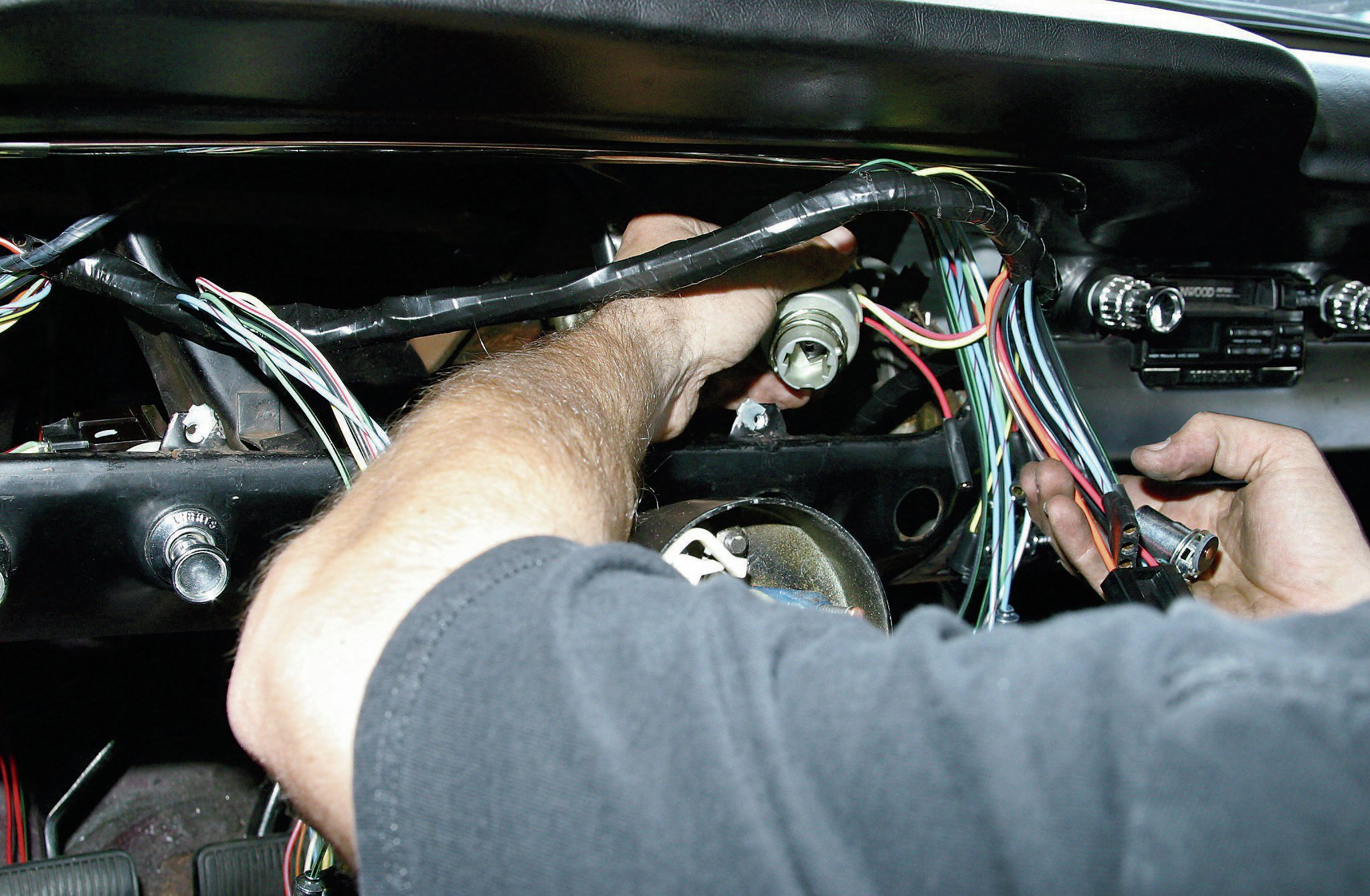 hight resolution of 66 mustang wiring harness aftermarket wiring diagram mega