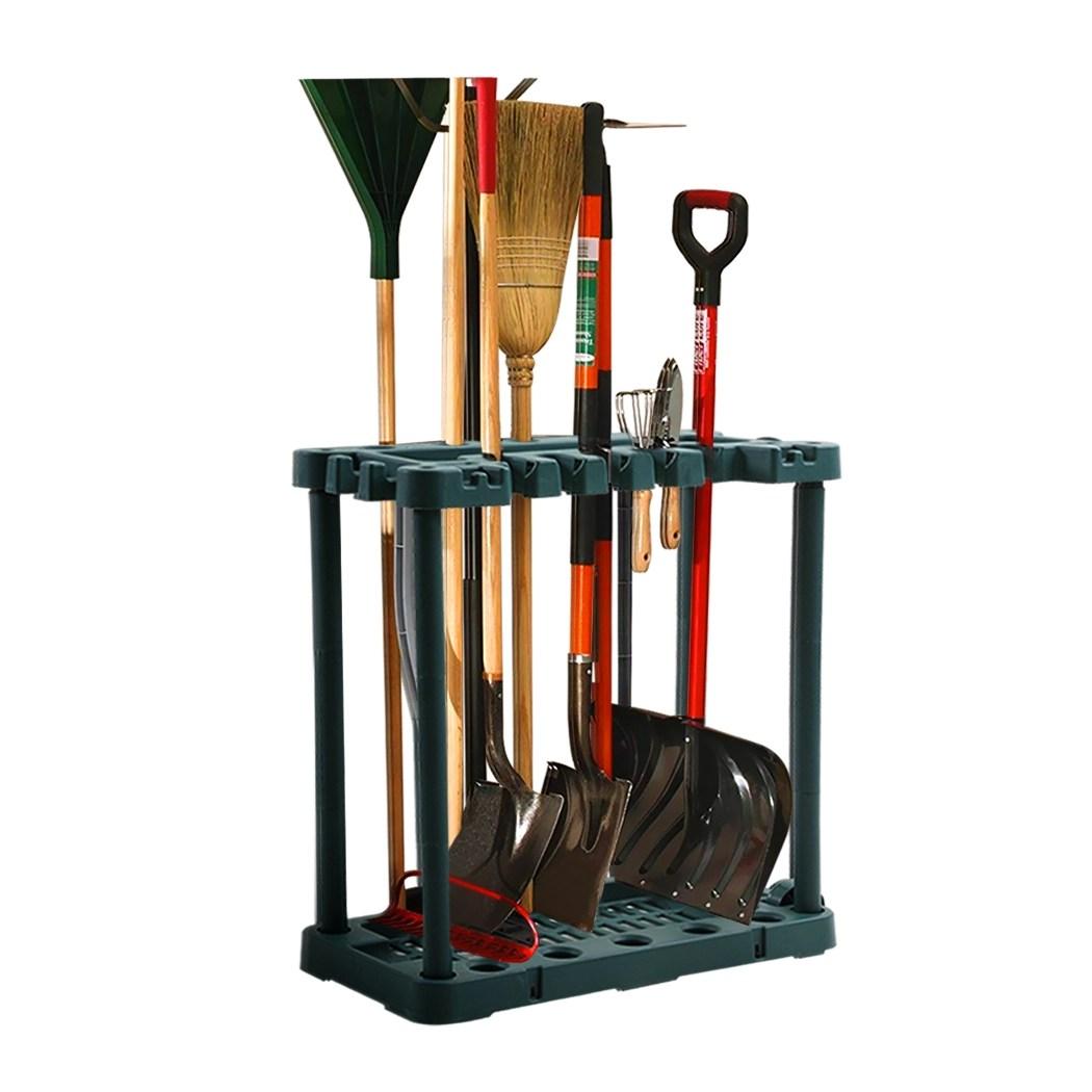 garden tool organiser handle holder green