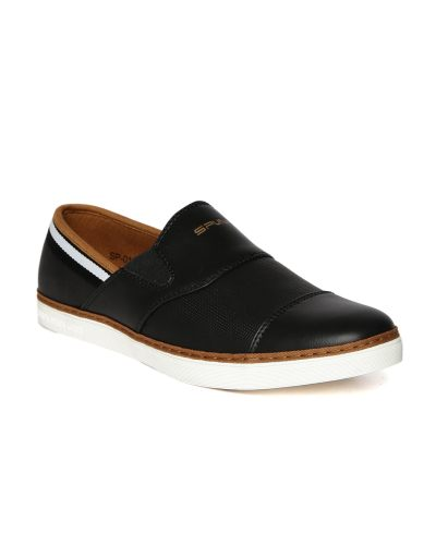 Spunk Men Black Flair Casual Shoes