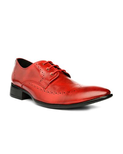 Bruno Manetti Men Red Derbys