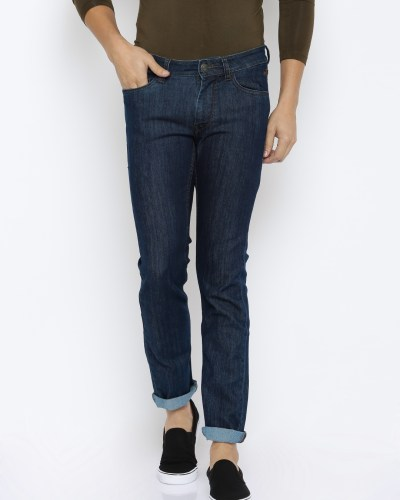 Flying Machine Men Blue Jackson Skinny Fit Low-Rise Clean Look Jeans