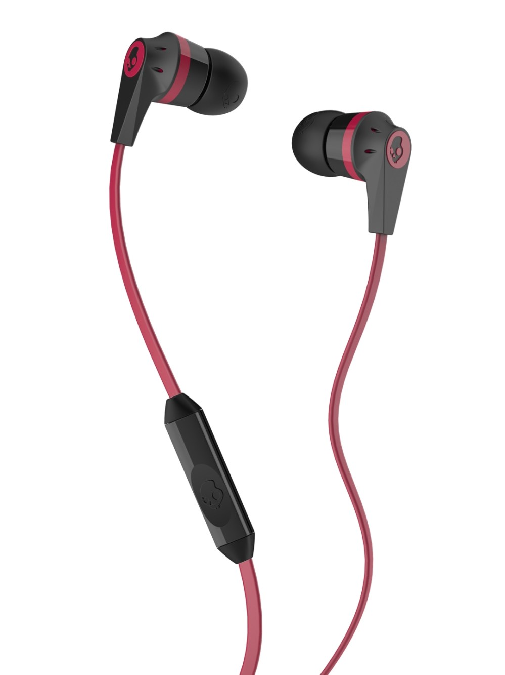 medium resolution of buy skullcandy black red ink d 2 earbuds with mic headphones for unisex 1369281 myntra