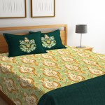 Buy Portico New York Multicoloured Printed Cotton Double Bed Sheet With Pillow Covers Bed Covers For Unisex 7653306 Myntra