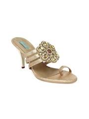 Catwalk Women Gold Toned Sandals