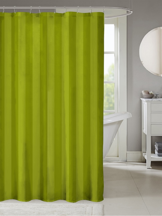 green striped shower curtain buy