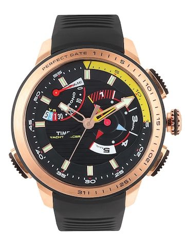Buy Timex Intelligent Quartz Men Black Dial Yacht Racer