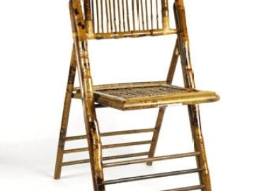 Round Bamboo Chairs
