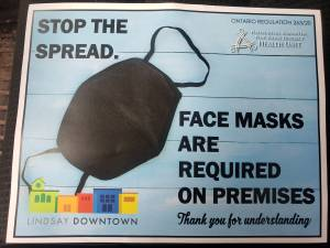 Mandatory masking goes into effect in Haliburton-Kawartha-Pine Ridge District Health Unit catchment area