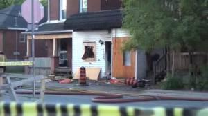 Dalhousie St. fire investigation in Peterborough continues (02:29)