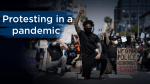 George Floyd protests: How to stay safe while demonstrating during the coronavirus pandemic