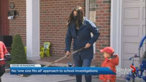 GTA mother seeks clarity on COVID-19 cases in schools (03:04)