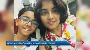 Toronto mother calls for action in wake of son's death by suicide leads to report, recommendations (02:37)