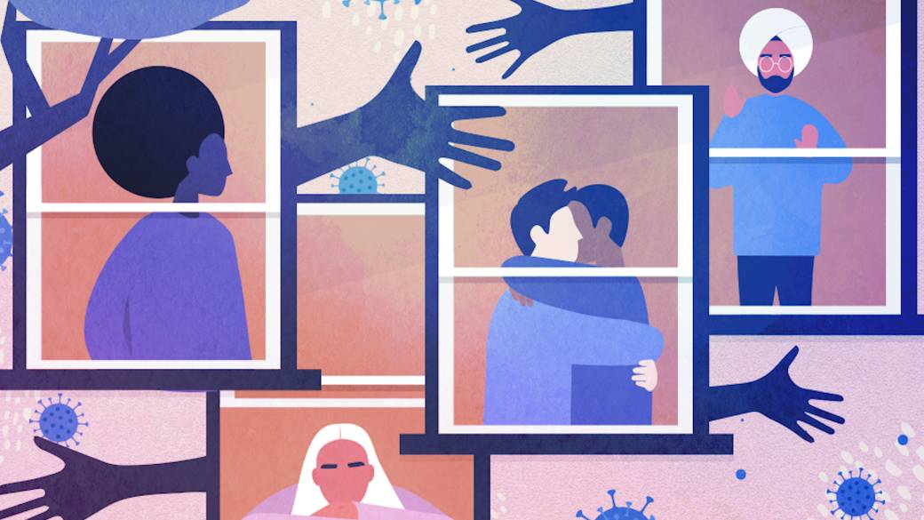 Click to play video: 'Alone and Apart:  How relationships have changed during the pandemic'
