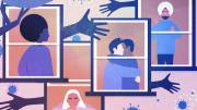 Play video: Alone and Apart:  How relationships have changed during the pandemic