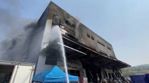 Construction site fire in South Korea kills at least 36