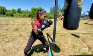 Peterborough area boxer ready to battle cancer and step inside the ring (02:11)