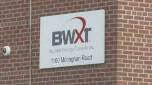 Peterborough medical officer of health says no threat with BWXT uranium pelleting
