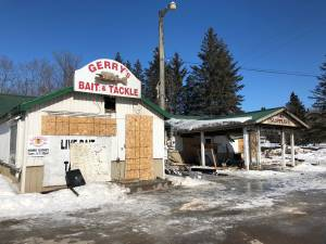 Fire destroys two businesses in Lakefield