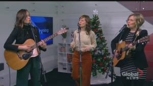 Good Lovelies share songs from new Christmas album Evergreen