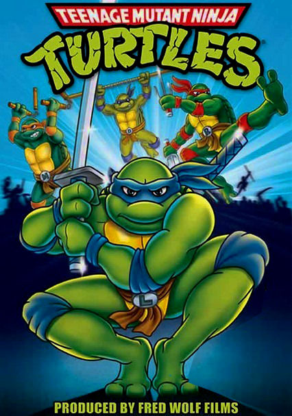 Netflix Ninja Turtles Movie : netflix, ninja, turtles, movie, Teenage, Mutant, Ninja, Turtles:, Original, Series, (1987), Blu-ray, Netflix