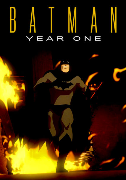 Batman: Year One (film) : batman:, (film), Batman:, (2011), Blu-ray, Netflix