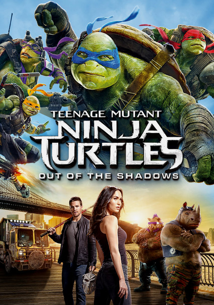 Netflix Ninja Turtles Movie : netflix, ninja, turtles, movie, Teenage, Mutant, Ninja, Turtles:, Shadows, (2016), Blu-ray, Netflix