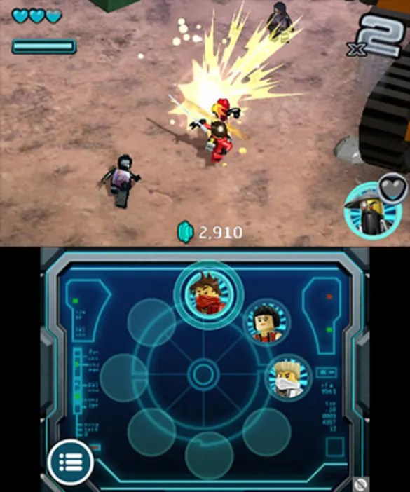 Jeux De Jeux De Ninjago : ninjago, Ninjago:, Nindroids, Nintendo, Détails