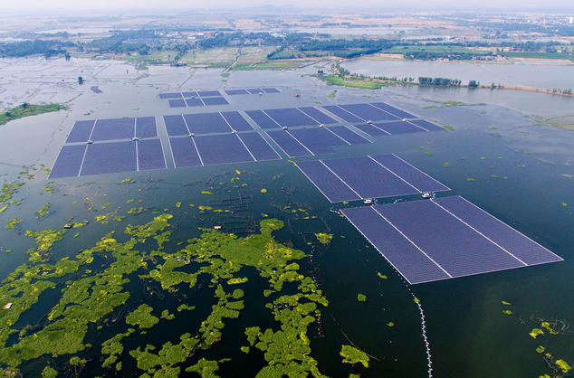 Floating Solar Farms Catch on in California  NRDC