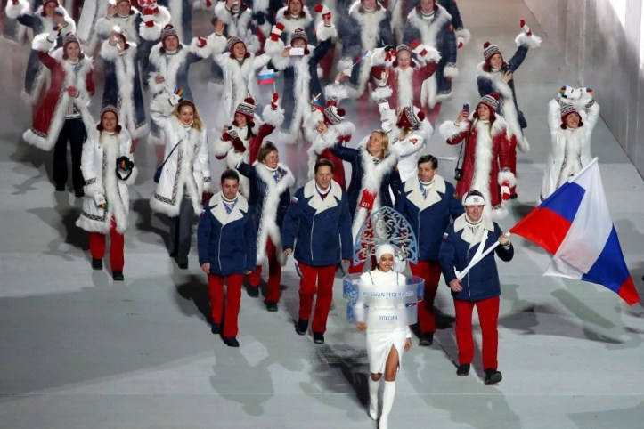 Image result for russia banned from 2018 winter olympics