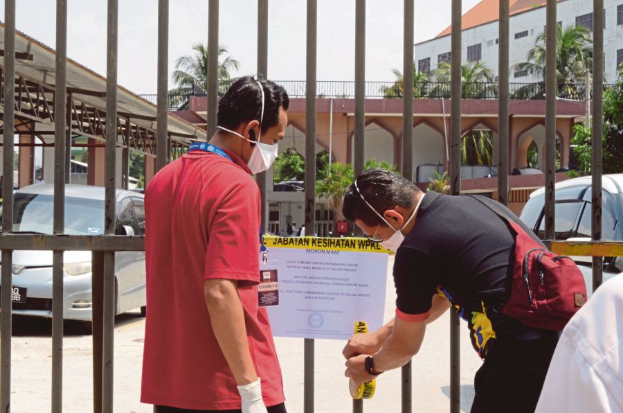 Staggering 190 new Covid-19 cases in Malaysia; tally at 428 | New ...